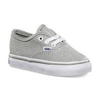 Vans Shimmer Authentic, Toddler (silver)