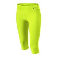 Nike Legend Tight Girls' Capri Pants - Volt