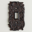 Single Cast Iron Switch Plate