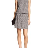 Banana Republic Womens Factory Marled Open Back Dress