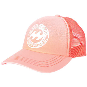 Billabong - Heritage Mashup Trucker Hat / Coral Kiss
