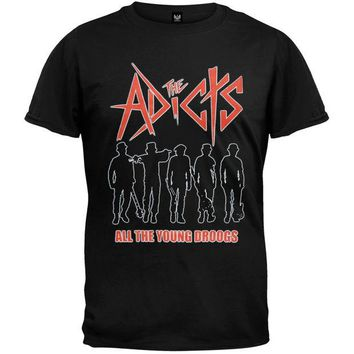 DCCKU3R The Adicts - All The Young Droogs T-Shirt