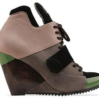 Finsk Project 6A in Green Blush Black at Solestruck.com