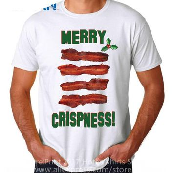 Merry Crispness - Bacon Lover - Christmas - BBQ/Grilling Tee