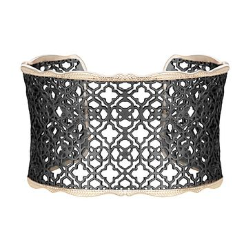 Candice Cuff Bracelet in Gunmetal - Kendra Scott Jewelry