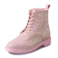 Women's Glitter Ankle Boots