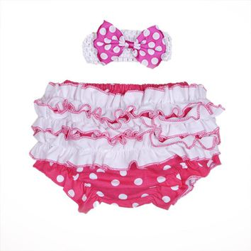 Baby Shorts Bloomer Bloomers Ruffled Diapers