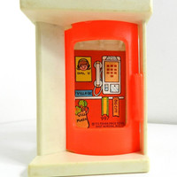 50% OFF Vintage Fisher Price Little People Phone Booth Childrens Toy