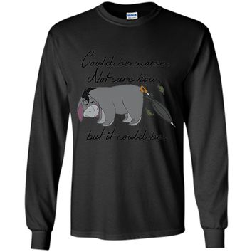 Disney Winnie the Pooh Eeyore Could be Worse T-shirt