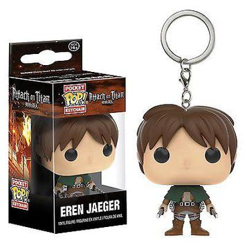 Funko Pocket Pop: Attack on Titan - Eren Jaeger Keychain
