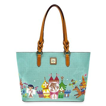 Disney it's a Small World Tote by Dooney & Bourke Shopper Castle New