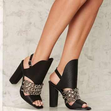 Privileged Knockout Slingback Heel