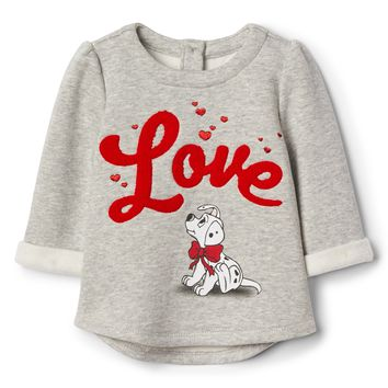 babyGap | Disney Dalmatian fleece sweater|gap