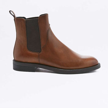 Vagabond Amina Brown Chelsea Ankle Boots - Urban Outfitters