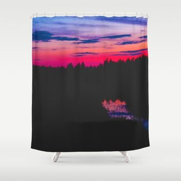 Comfort Shower Curtain by Gallery One
