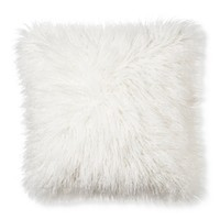 Xhilaration® Mongolian Fur Decorative Pillow - C... : Target