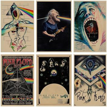 Pink Floyd Retro Poster