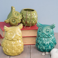 ModCloth Boho Hoots the Boss? Container