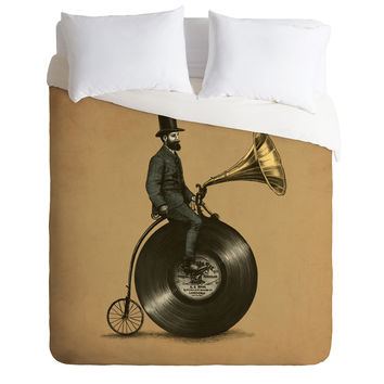 Eric Fan Music Man Duvet Cover