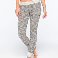 Billabong Beyond Words Womens Crop Sweatpants Gray  In Sizes