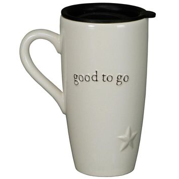 """Good To Go"" Travel Coffee Mug"