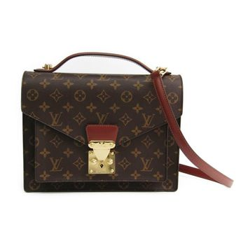 Louis Vuitton Monogram Monceau M51185 Women's Shoulder Bag Monogram BF313974