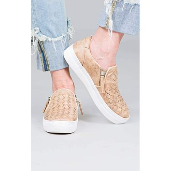 Tiffani Not Rated Woven Sneakers