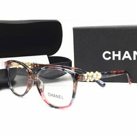 Perfect CHANEL Women Fashion Popular Shades Eyeglasses Glasses Sunglasses