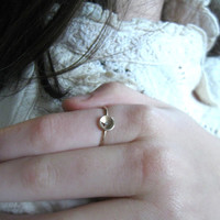 14k gold ring  with diamond, ,handmade jewellery,  solitary diamond ring, Valentine's gift, sale