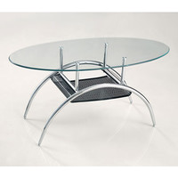 Stunning And Sturdy Black Mesh Coffee Table by Walker Edison