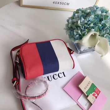 """GUCCI"" Latest Retro Messenger Bag"