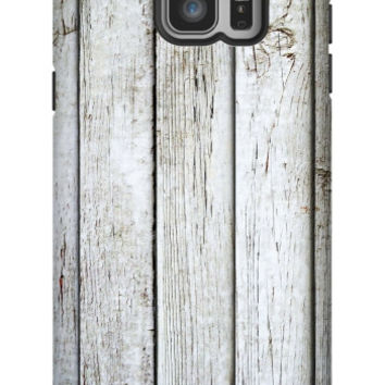 Rustic Wood Galaxy Note 5 Extra Protective Bumper Case