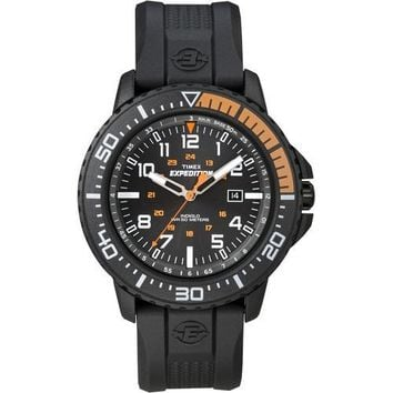 Timex Expedition Uplander Watch - Black Dial/Black Nylon Strap