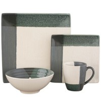 Sango Odyssey 16-Piece Dinnerware Set in Blue