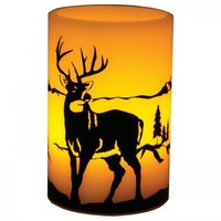 "6"" Deer LED Candle"