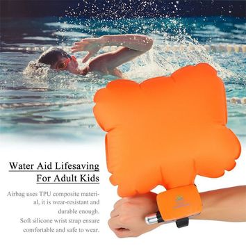 Safety Aid Swimming Inflatable Float Buoy Floating Water Self Rescue Bracelet Anti Drowning Sea Swim Buoy