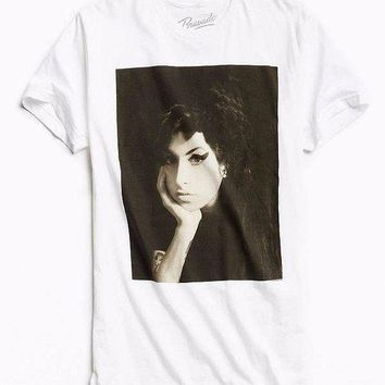 Amy Winehouse AMY WINEHOUSE PHOTO T-Shirt NEW Licensed & Official RARE