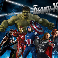 The Avengers Thank You Card