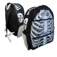 Ribcage Skull Backpack :: VampireFreaks Store :: Gothic Clothing, Cyber-goth, punk, metal, alternative, rave, freak fashions