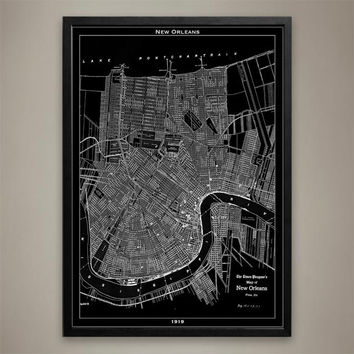 Map Print, NEW ORLEANS