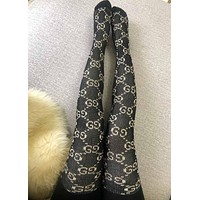 GUCCI GG knit tights