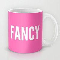 FANCY HOT PINK Mug by CreativeAngel | Society6