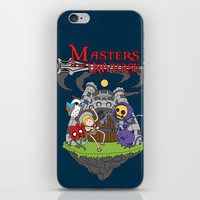 MASTER OF THE UNIVERSE iPhone & iPod Skin by Maioriz Home