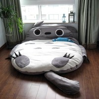 Big Huge Cute 2012 Models 230cm Totoro Bed Sleeping Bag Sofa Christmas Gift Kid