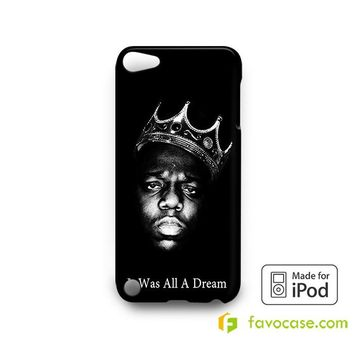 BIGGIE SMALLS NOTORIOUS BIG HIP HOP RAP  iPod Touch 4 5 6 Case