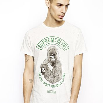 Supremebeing T-Shirt With Alpha Gym
