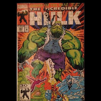 #397 Marvel Comics 1991 The Incredible Hulk Part One of Four