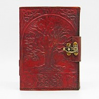Tree of Life Leather Writing Journal