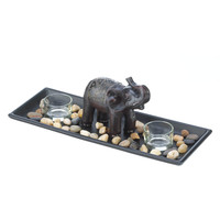 Elephant Zen Candle Set