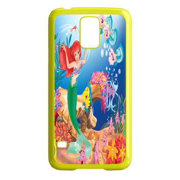 The Little Mermaid Ariel With Mirror Samsung Galaxy S5 Case